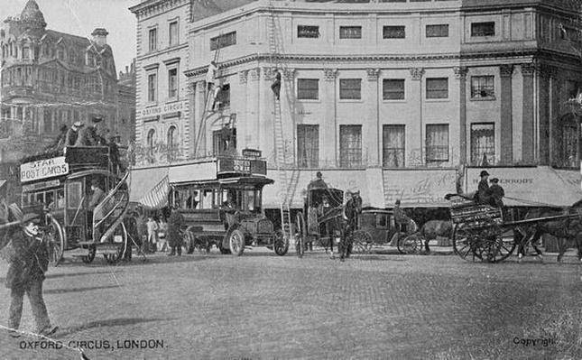 View of Oxford Circus, c.1900