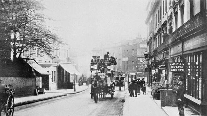View of Church Street, Kensington c.1906
