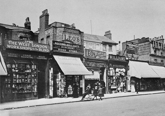 View of Notting Hill Gate, c.1913