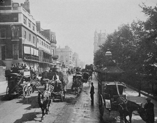 View of Piccadilly, c.1900