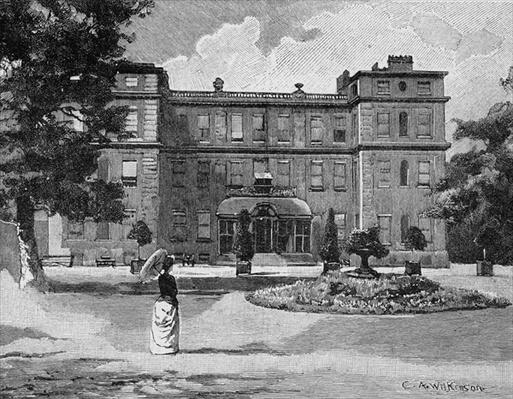 Marlborough House, from the garden, 1863