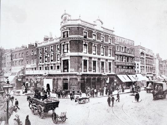 Pentonville Road scene, Islington, London