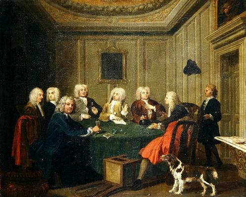 A Club of Gentlemen, c.1730