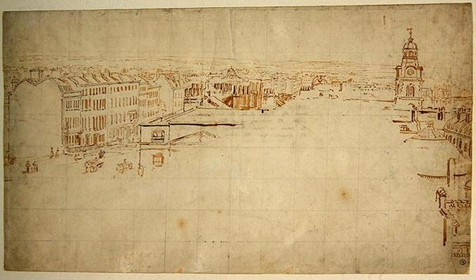 Sketch for the Eidometropolis, c.1801