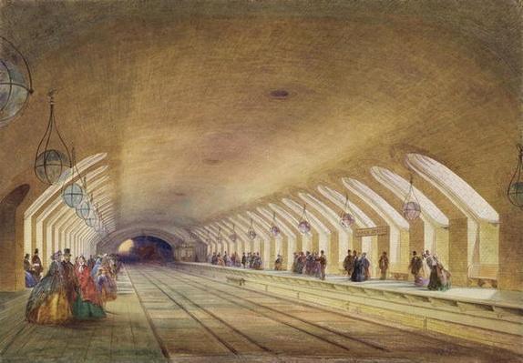 Baker Street Station, 1863