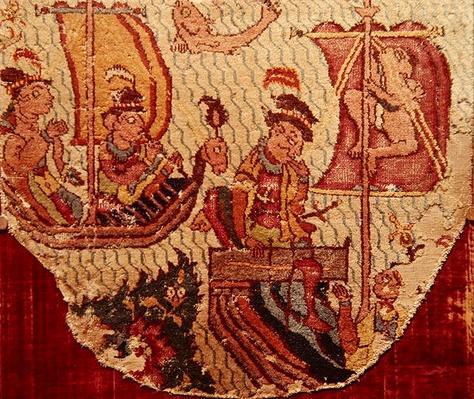 Rug with Indo-Portuguese Motifs, Safavid Dynasty