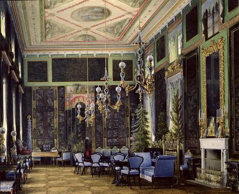 The Chinese Room in the Great Palais in Tsarskoye Selo