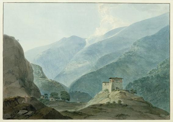 Chukha Casle in Bhutan, 1783