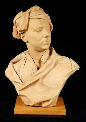 Bust of a man, probably Francis Hayman, c.1750