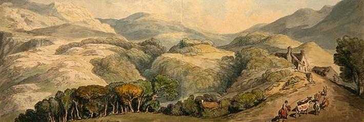 Entrance to Festiniog, Wales, 1797