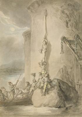 A Military Escapade, c.1794