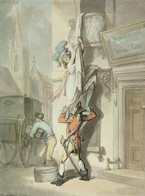 The Elopement, 1792