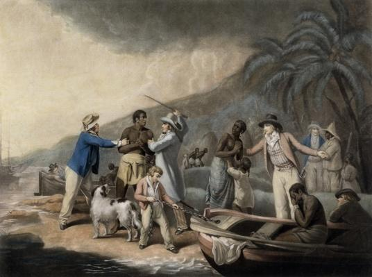 Slave Trade, engraved by John Raphael Smith, 1791
