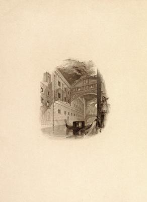 The Bridge of Sighs, Venice, c.1832