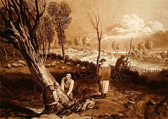 Hedging and Ditching, c.1860