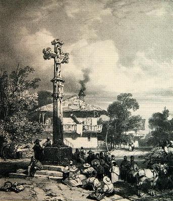 Croix de Moulin les Planches, 1827