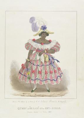 Queen or 'Maam' of the Set-Girls, plate 1 from 'Sketches of Character... ', 1838