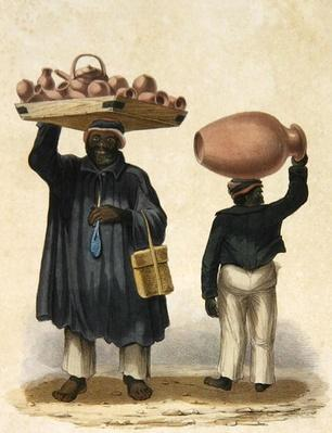 Water-jar Sellers, plate 9 from 'Sketches of Character...', 1838