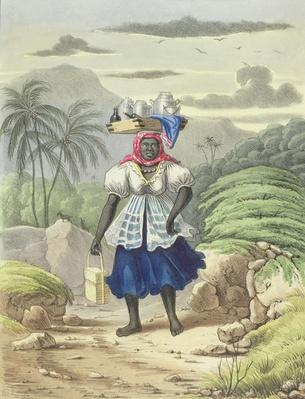 Milkwoman, plate 10 from 'Sketches of Character...', 1838