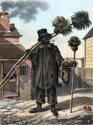 Chimneysweeper, plate 11 from 'Sketches of Character...',1838