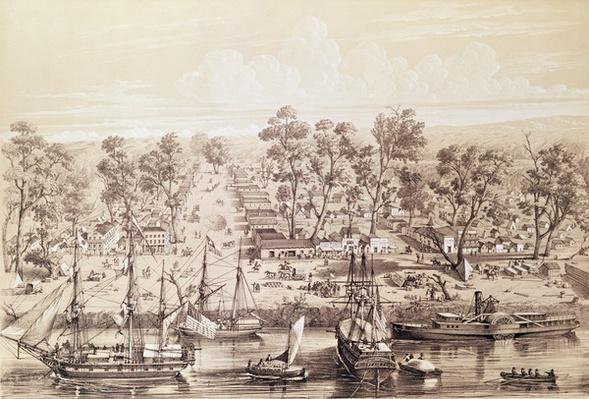Town of Sacramento, 1820