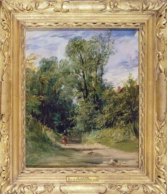 A Wooded Lane, c.1825