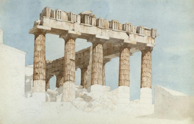 The East End and South Side of the Parthenon, c.1813