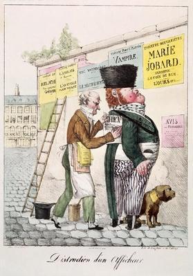 The Amusement of a Bill Sticker, 1820