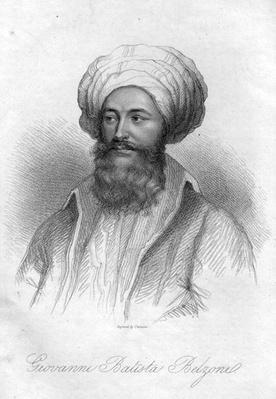 Portrait of Giovanni Batista Belzoni