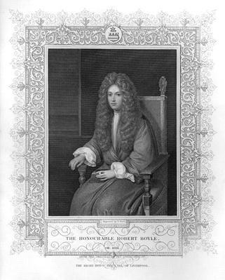 Portrait of The Honourable Robert Boyle