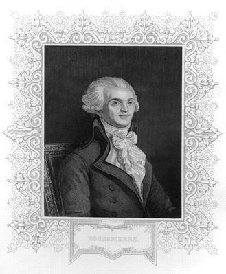 Portrait of Robespierre