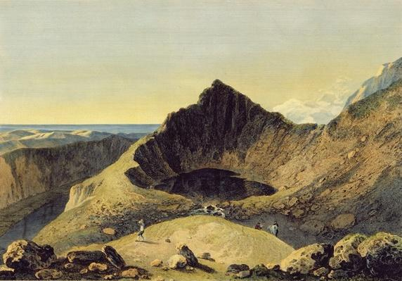 The Summit of Cader Idris Mountain, 1775