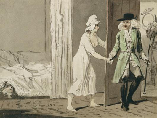 The Cuckold departs for the Hunt, c.1800