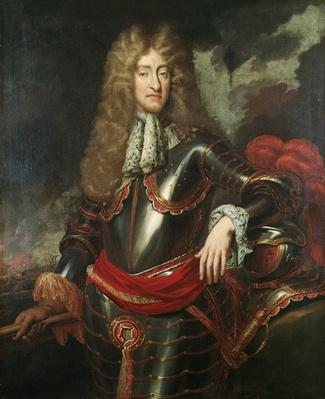 Portrait of King James II, c.1690
