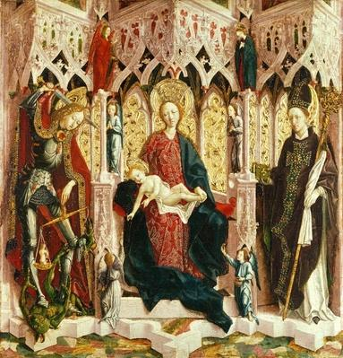The Virgin and Child Enthroned, c.1475