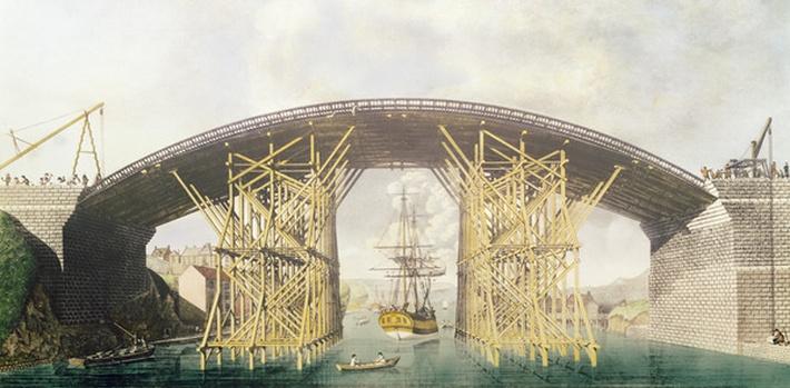 Iron Bridge over the Wear, 1796