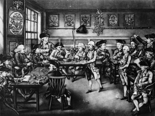 The Court of Equity or Convivial City Meeting, 1779