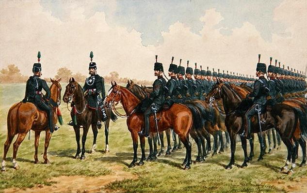 Royal East Kent Yeomanry, 1865
