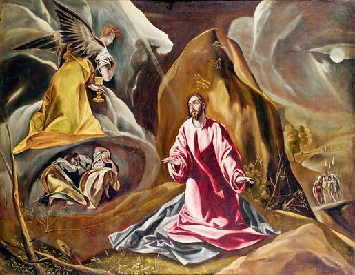Agony in the Garden of Gethsemane, c.1590's