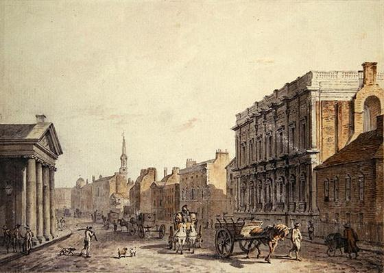 View of Whitehall, looking towards Charing Cross, 1790