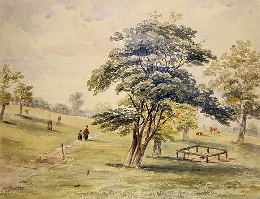 View of the North Part of Hyde Park, 1820