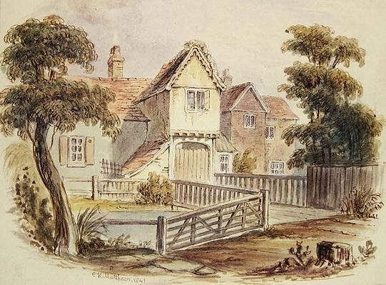 The Old Cheesecake House, 1841