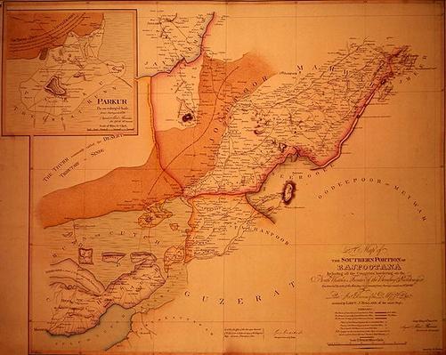 The Southern Portion of Rajpootana, 1820