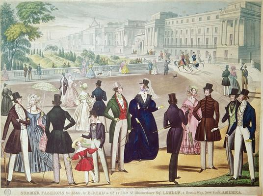 Summer Fashions for 1840
