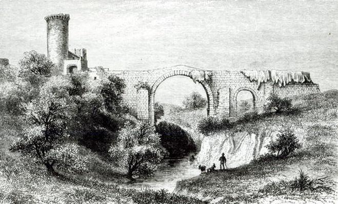 Ponte della Badia, Vulci
