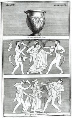 Two Scenes from an Etruscan Vase