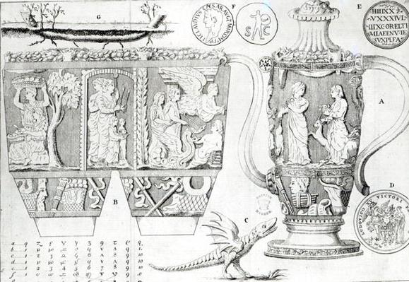 Etruscan Vase and Designs, 1749