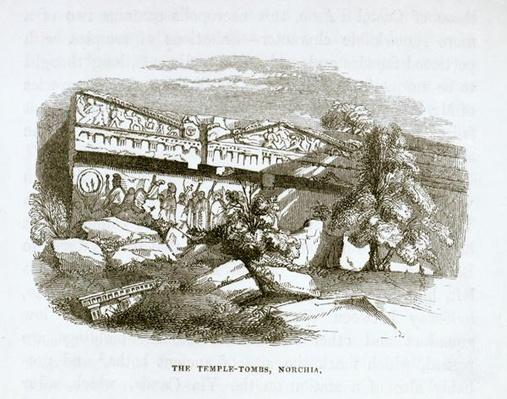 The Temple-Tombs at Norchia