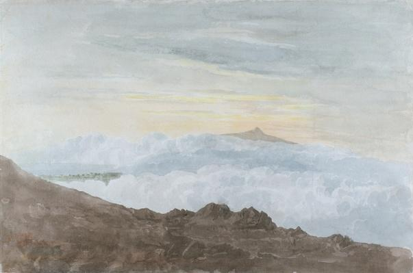 Mountainous Landscape with Clouds, c.1803