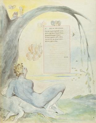'Ode on the Spring', design 6 for 'The Poems of Thomas Gray', 1797-98